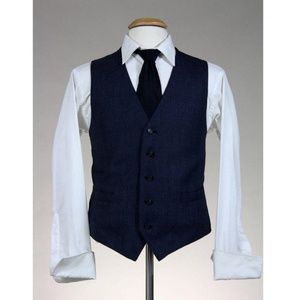 Vintage Men's 2 Piece 100% Wool Pant Vest Combo